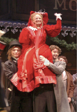 """It was the best experience I have had in my career this far!""- Meagan Sill, starring as Musetta in IU Opera's La Boheme"